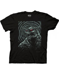 Ghostbusters Godmachine Poster Adult Crew Neck T-Shirt