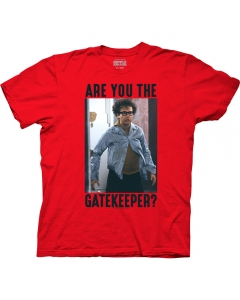 Ghostbusters Are You The Gatekeeper? Adult Crew Neck T-Shirt
