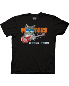 Hooters World Tour Adult Crew Neck T-Shirt