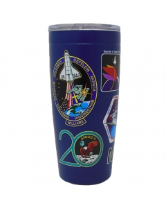 NASA Decal Insulated Stainless Steel Tumbler