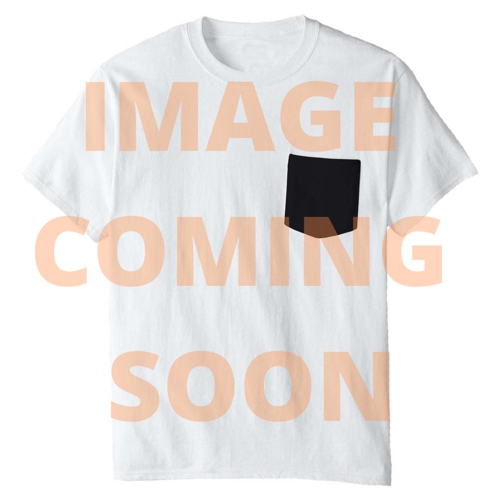 Rick and Morty Adult Unisex As Eyeballs Black & White Crew Tie Dye T-Shirt