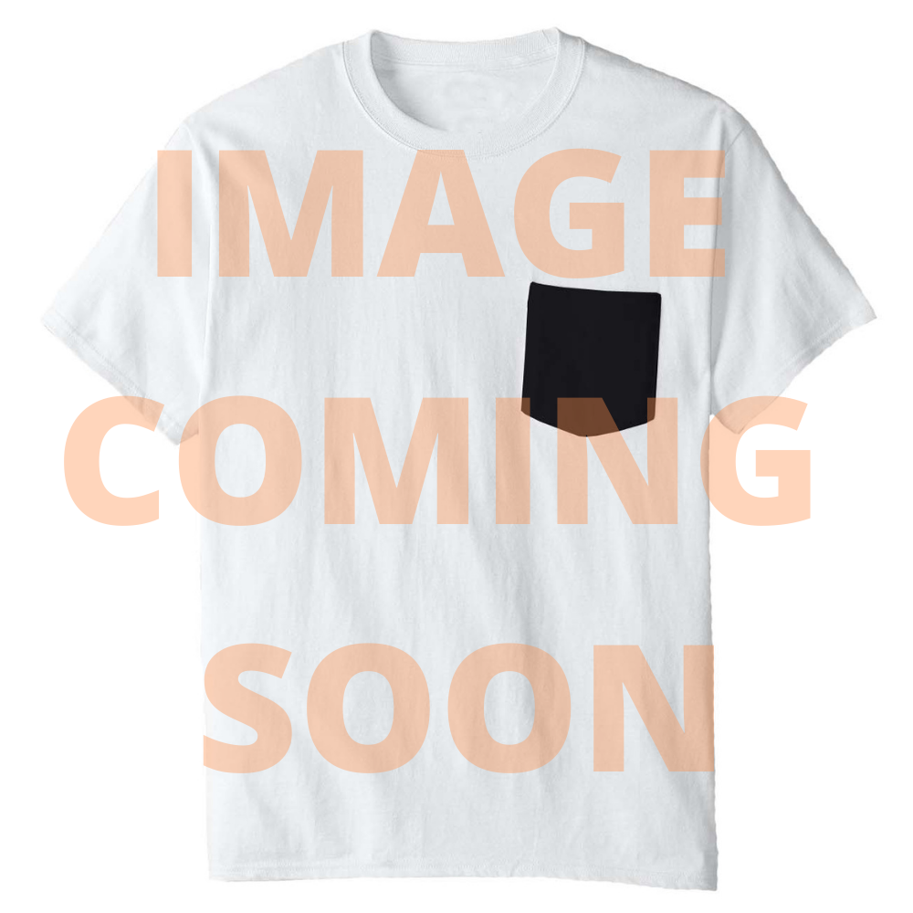 Taco Bell Distressed Logo with Striped Border Crew T-Shirt