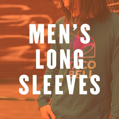 Shop Men's Long Sleeve T-Shirts