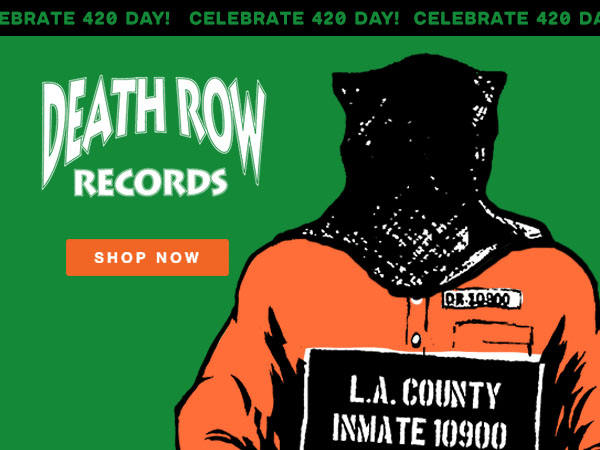 Shop Death Row Records T-Shirts and Apparel