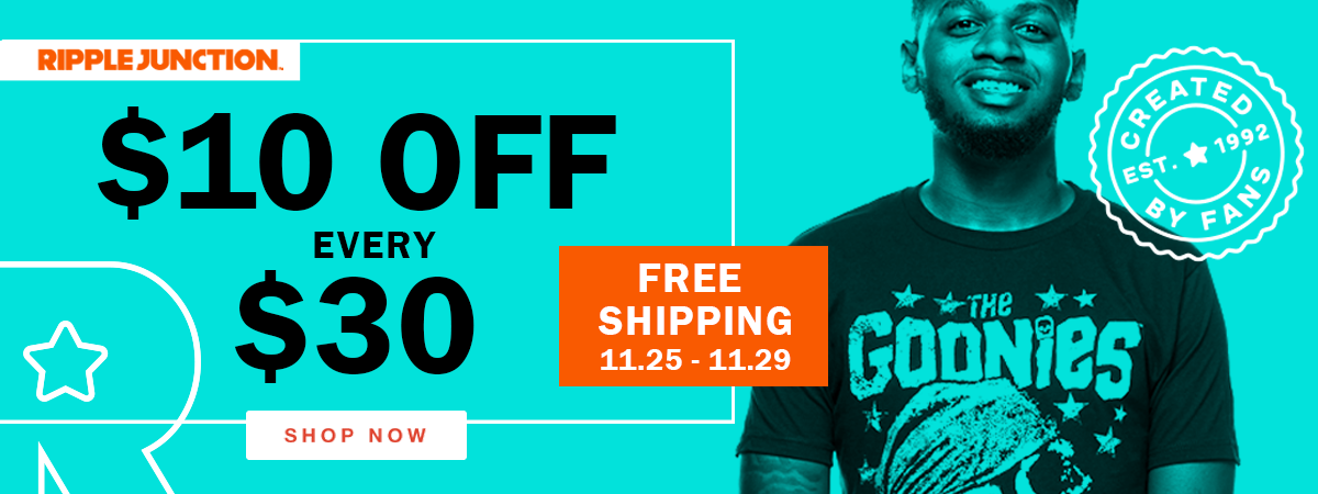 $10 off every $30 Spent - Free Shipping on all Orders