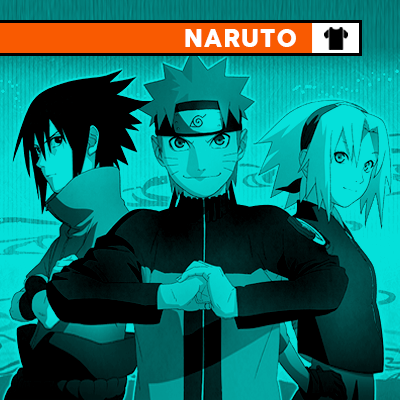 Shop Naruto T-Shirts and Apparel