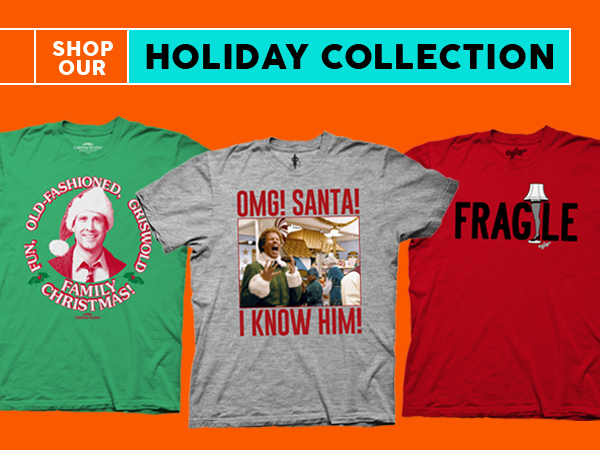 Shop Holiday T-Shirts and Apparel