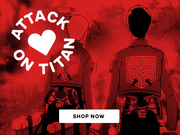 Shop Attack on Titan T-Shirts and Apparel