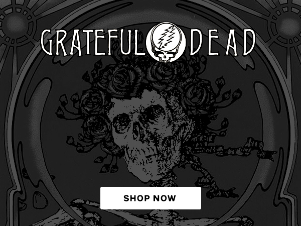 Shop Grateful Dead T-Shirts and Apparel
