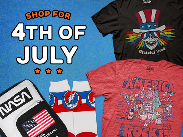 Shop 4th of July T-Shirts and Apparel