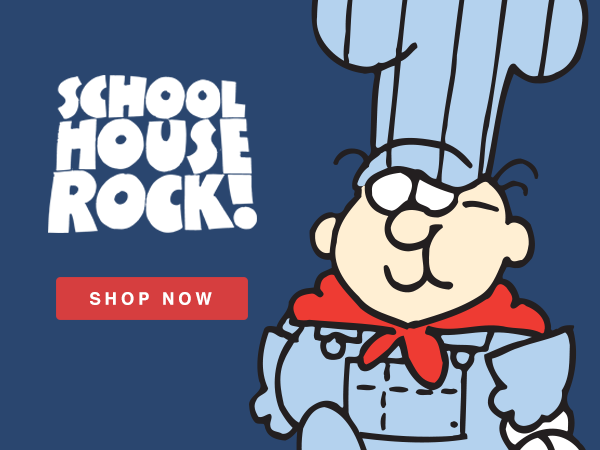 Shop Schoolhouse Rock T-Shirts and Apparel