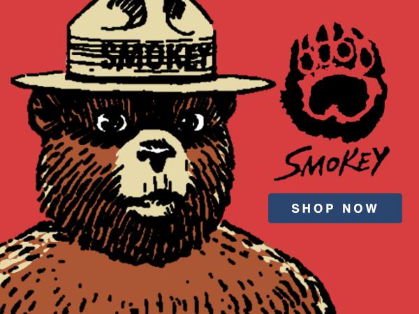 Shop Smokey Bear T-Shirts and Apparel