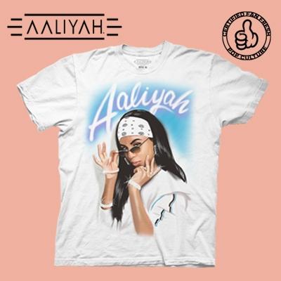 Shop Aaliyah T-Shirts and Apparel