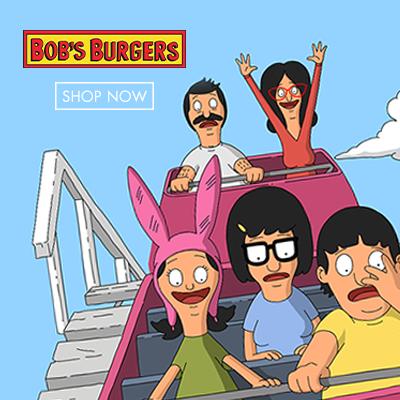 Shop Bob's Burgers T-Shirts and Apparel