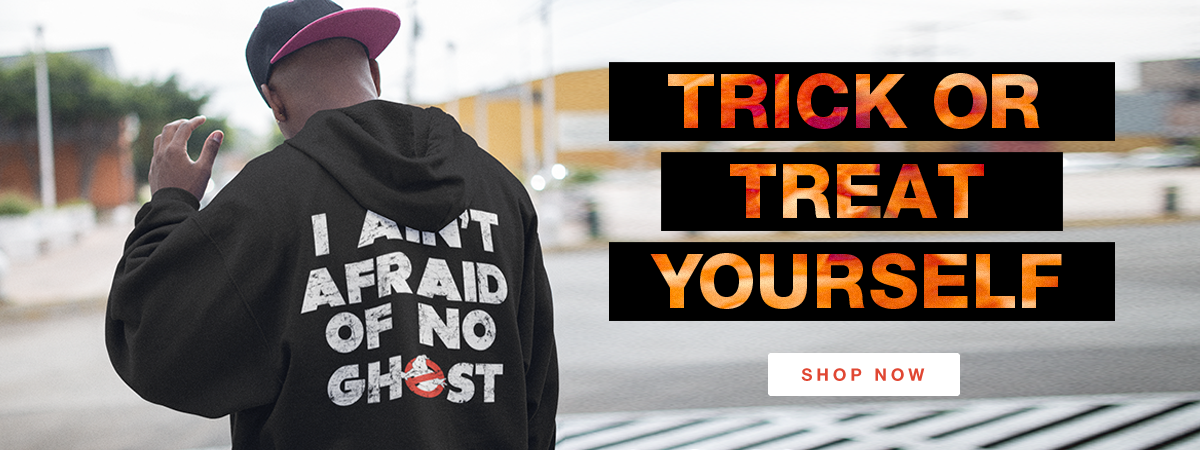 Trick or Treat Yourself! Shop Halloween Apparel