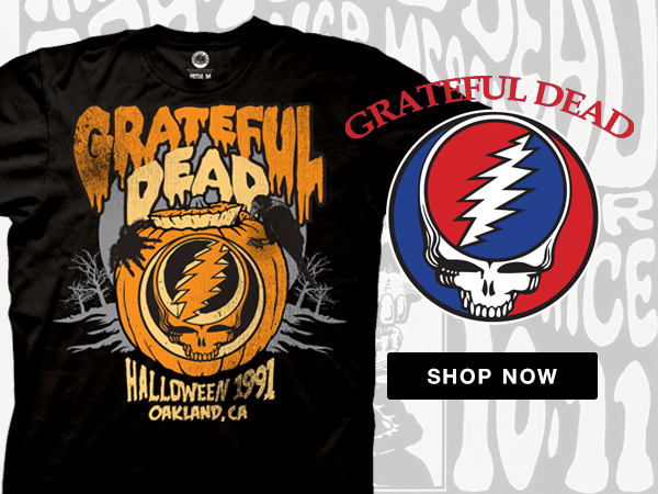 Shop Grateful Dead T-Shirts and Apparel