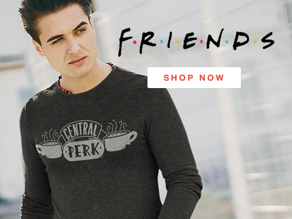 Shop Friends T-Shirts and Apparel